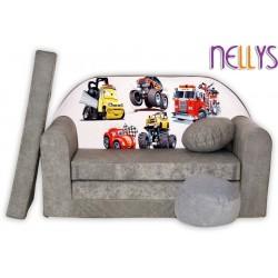 Nellys Rozkladacia detská pohovka 51R