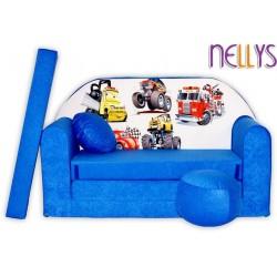 Nellys Rozkladacia detská pohovka 52R