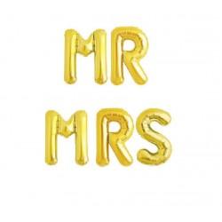 Set fóliových balónov Mr Mrs - 40cm