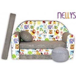 Nellys Rozkladacia detská pohovka 53R