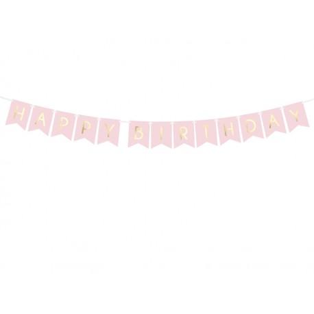 Girlanda - Baner - HAPPY BIRTHDAY, 15x175cm