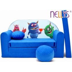 Nellys Rozkladacia detská pohovka 54R