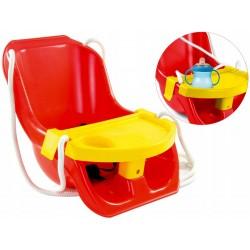 Detská hojdačka s bezpečnostnými pásmi - Mochtoys