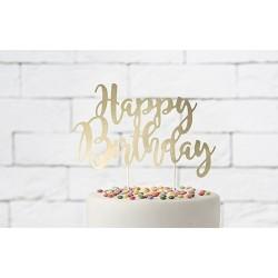 Zápich na tortu - Happy Birthday, 22,5cm