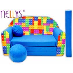 Nellys Rozkladacia detská pohovka 65R