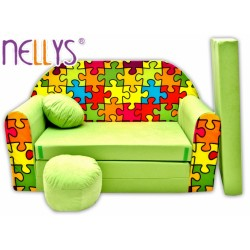 Nellys Rozkladacia detská pohovka 76R