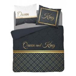 Posteľné obliečky KING and QUEEN