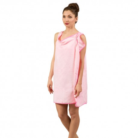 GAD01940 FROSTER Županový uterák 155 x 85 cm Ružová