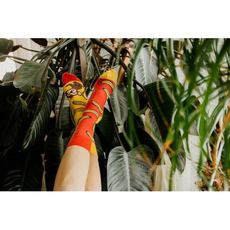 HESTY Veselé ponožky Hesty - Opica 35-38