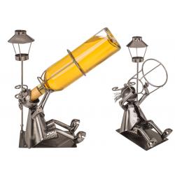 Kovový stojan na víno Vinopič