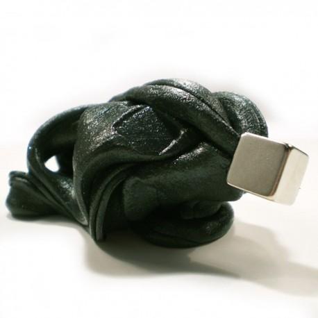 Inteligentná plastelína - Čierna - Supermagnetická