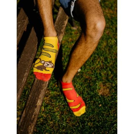 HESTY Veselé ponožky Hesty - Opica členkové 35-38