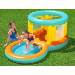Nafukovací hrad s bazénom 2v1 Jumptopia