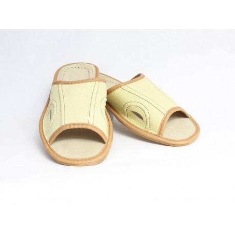 Pánske kožené papuče Model F 0010