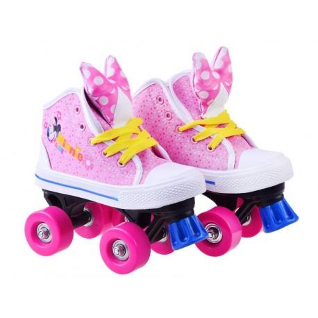 SP0675 Detské rozprávkové korčule s mašličkou - Minnie Mouse 30