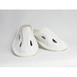Pánske kožené papuče Model C 0007