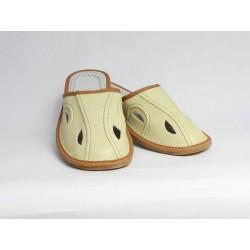 Pánske kožené papuče Model B 0007