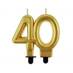 Sviečka na tortu 40