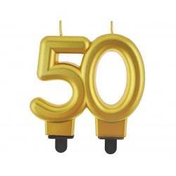 Sviečka na tortu 50