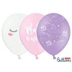 Balony - Jednorožec MIX, 30cm - 6ks