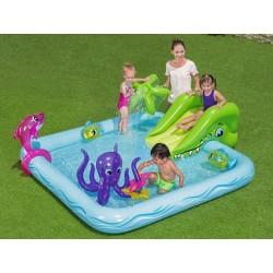 Nafukovací bazénik so šmýkalkou