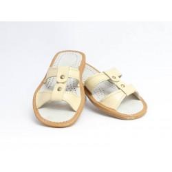 Dámske kožené papučky model 4