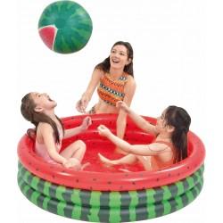 Detský nafukovací bazén - melón - 120x30cm