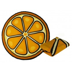 Plážová osuška - Pomaranč 150cm