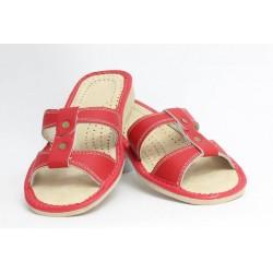 Dámske kožené papučky model 5