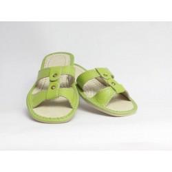 Dámske kožené papučky model 6