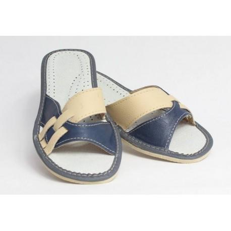 Dámske kožené papučky model 8