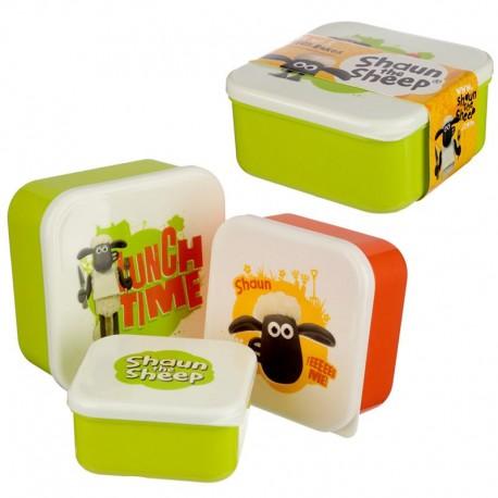 746604 Sada 3 boxov Shaun The Sheep