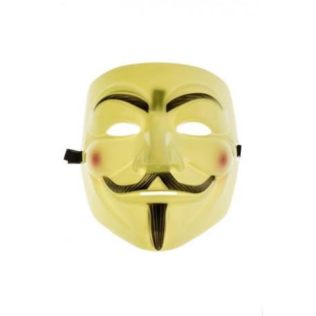 Maska Anonymus Vendeta - Žltá