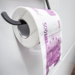 Toaletný papier XL - 500 eur