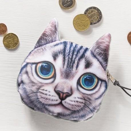 3D peňaženka - mačiatko