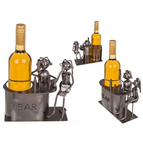 71-3286 Kovový stojan na víno - barman