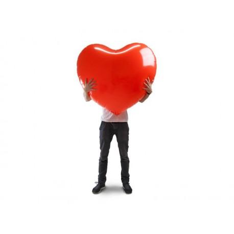 Nafukovacie srdce XL - 110 x 90 cm