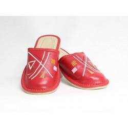 Dámske kožené papučky model 33