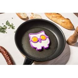 Silikónová forma na vajíčka - sova