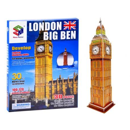 ZA3802 3D puzzle London Big Ben - 30ks