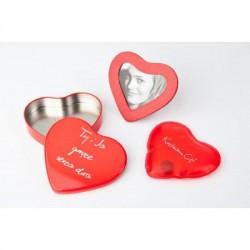 Hrejivé srdce s fotorámčekom