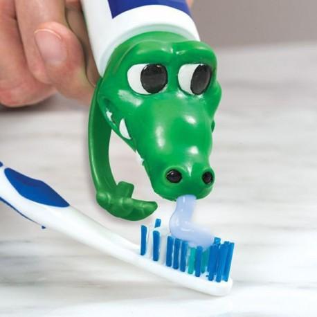 Vrchnák na zubnú pastu krokodíl