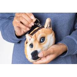 3D peňaženka - pes