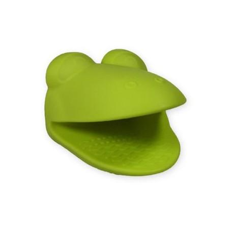 Silikónová chňapka žaba
