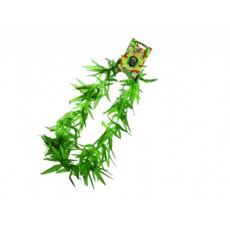 Marihuanové kvety na krk