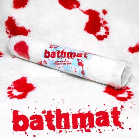 Krvavá podložka do kúpelne - Blood Bath Mat
