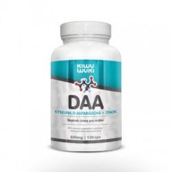 DAA - kyselina D-asparágová + Zinok | 600mg | 120 cps Doplnok stravy pre mužov