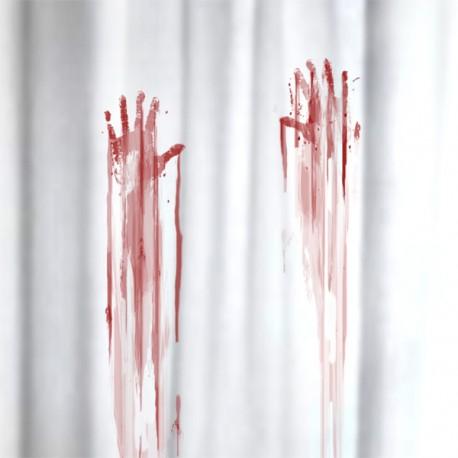 Krvavý sprchový záves