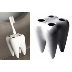 Držiak na zubné kefky v tvare zubu