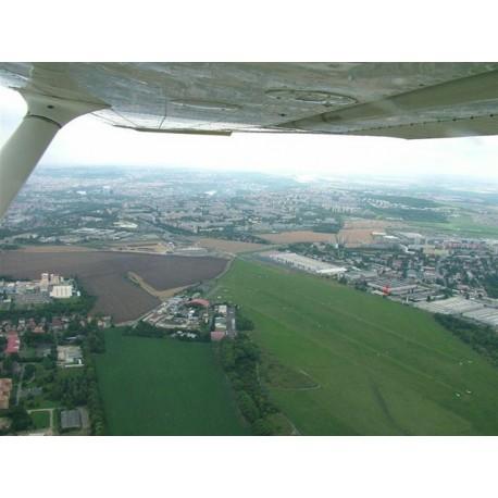 Vyhlídkový let nad Prahou
